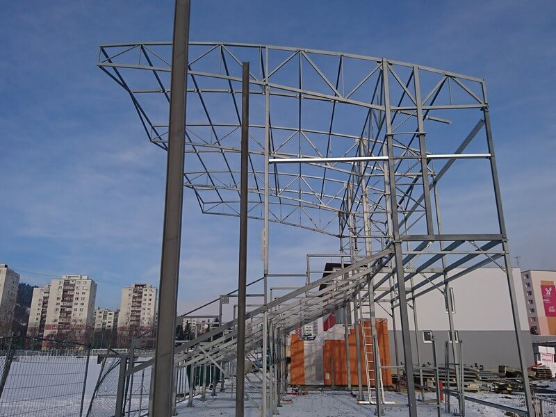 References Steel structures, CIPI, s.r.o.,